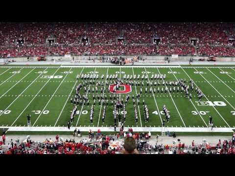 Ohio State Marching Band 9 6 2014 TV Land Halftime Show OSU vs VA Tech