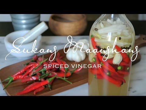 Sukang Maanghang [Spiced Vinegar]