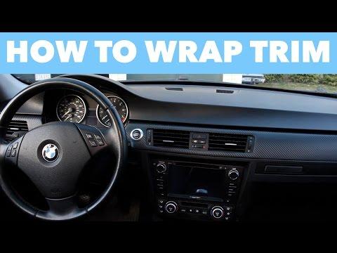 How to Wrap Interior Trim // EASY DIY!
