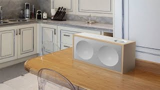 The Onkyo NCP-302-B and NCP-302-W speakers have the FlareConnect wireless multiroom system.