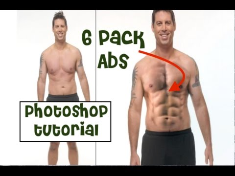 Photoshop Tutorial (Photo effect) - 6 Pack Abs in Photoshop | Adobe Photoshop