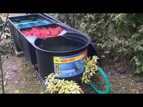 Oasis Vor-Tec 30000 koi pond filter