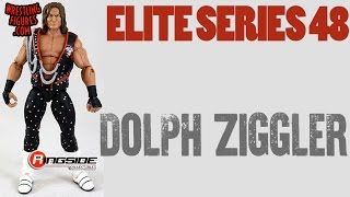 WWE FIGURE INSIDER: Dolph Ziggler  - WWE Elite Series 48 WWE Toy Wrestling Action Figure