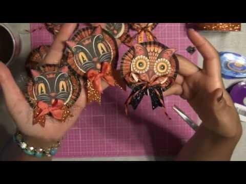 #25 Let's Make More Vintage Halloween Embellishments