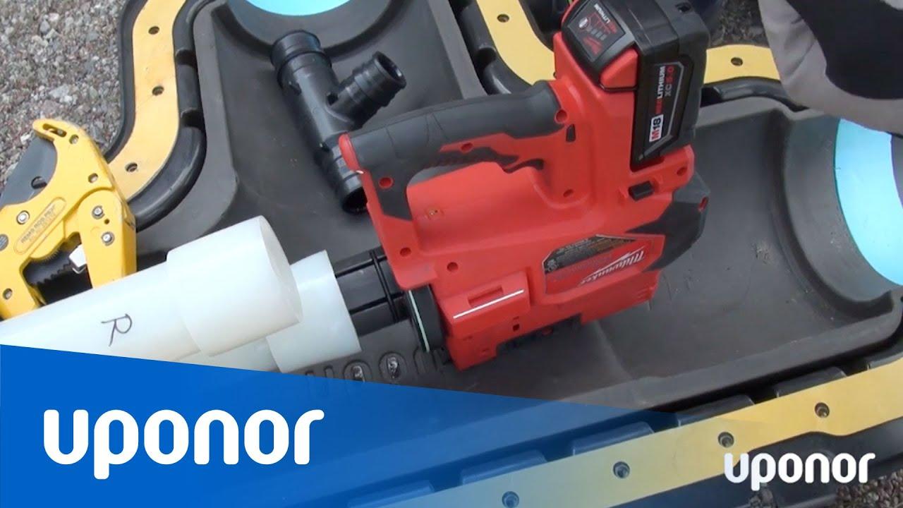 Uponor Q&E VLD M18 – Installation av Ecoflex T-skarvsats – Realtidsversion 20 min
