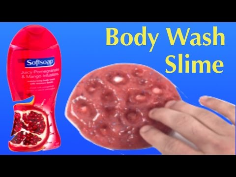 DIY Body Wash Slime Without Glue!! 2 Ingredients Slime No Borax or Face Mask