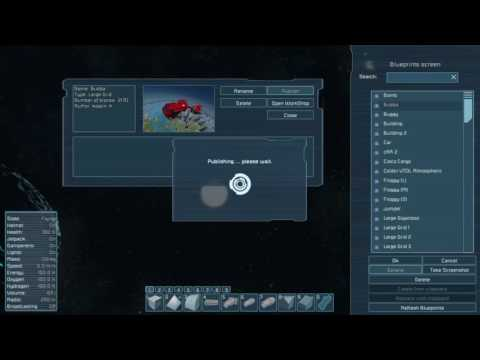 Space Engineers How to upload ship to steam workshop