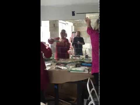 How to Install Antique Mirror Subway Tile Backsplash