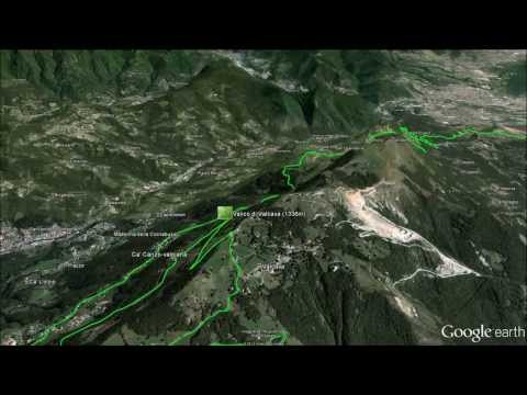 Google Earth fly over video of Il Lombardia 2013