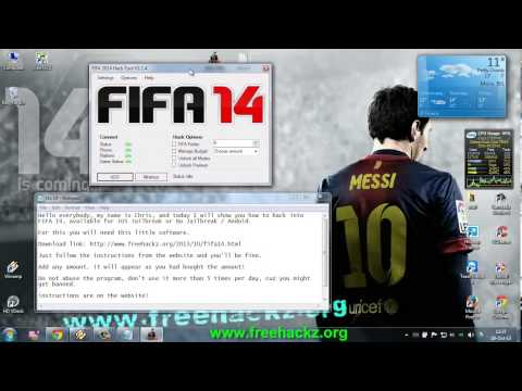 Hack Game Fifa 14 Android/iOS