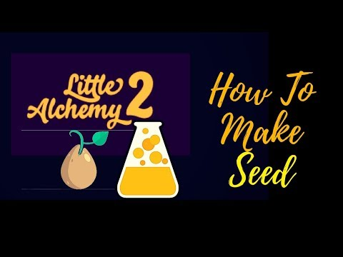 Little Alchemy 2-How To Make Seed Cheats & Hints
