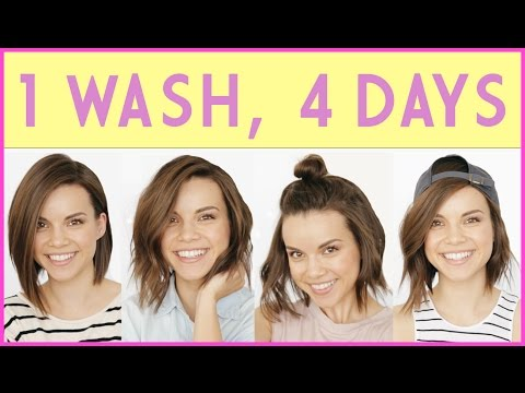 1 Wash, 4 Days! How to Extend Your Hairstyle ◈ Ingrid Nilsen
