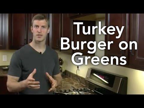 How to Make Turkey Burger on Greens-Transform Your Kitchen-Episode #6