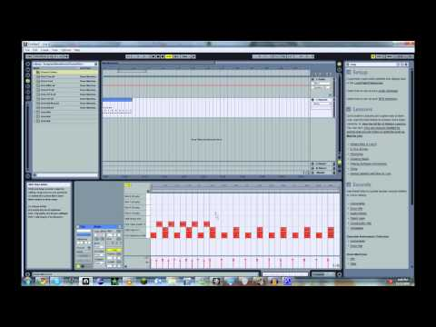 Ableton Live - How to make a house beat tutorial