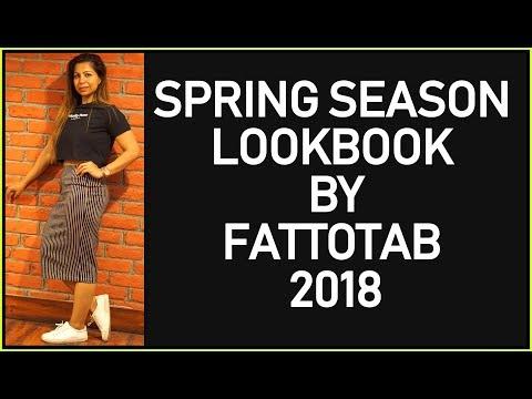 Spring Lookbook 2018 | Women's Fashion Zara & Adidas Lookbook & OutFits Ideas | Fat to Fab