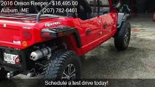 2016 Reeper Sport golf cart hardtop addition