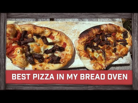 Best Pizza In My Bread Oven!