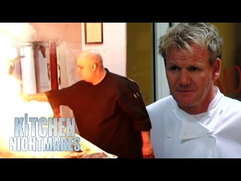 Eduardo The Owner Almost Ruins Relaunch Night | Kitchen Nightmares