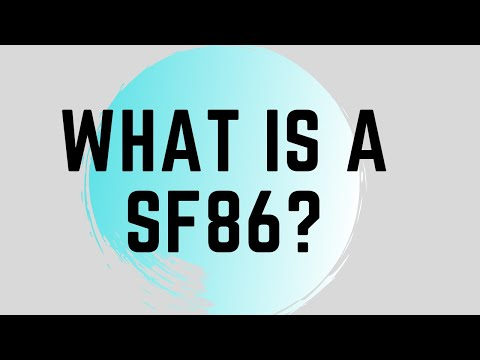 What is a SF86?