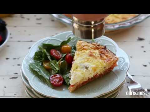 How to Make Smoked Salmon Quiche | Quiche Recipes | Allrecipes.com