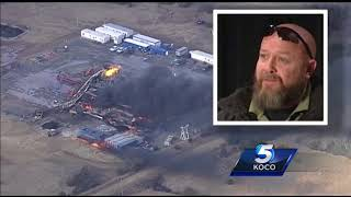 Fires, search for missing oil well employees continue after Pittsburg County explosion