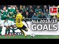 Paco Alcacer All Goals 201819