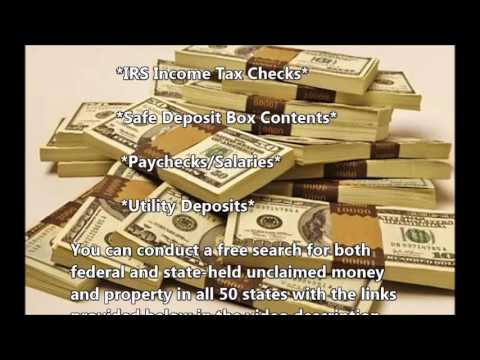 The Fastest Way To Make Money Is To Find Unclaimed Money