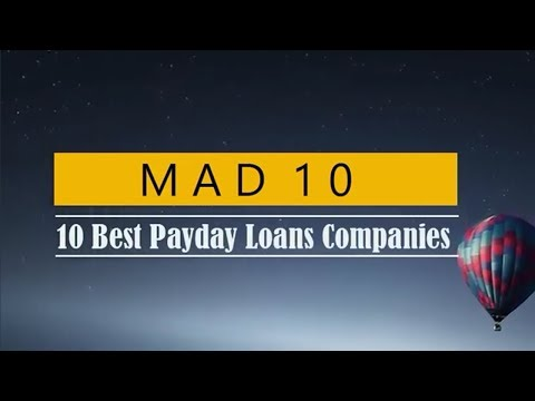 Top 10 Best Payday Loans Companies! Get Payday Loans Online!