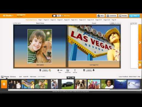 Create a Custom Photo Book Online