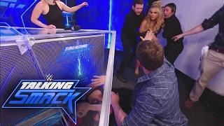 Natalya attacks Nikki Bella: WWE Talking Smack, Feb. 7, 2017
