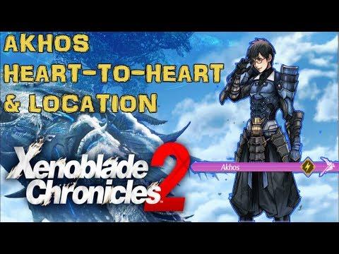 Xenoblade Chronicles 2 - Akhos Heart-to-Heart & Location