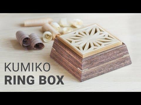 Making Small Kumiko Boxes