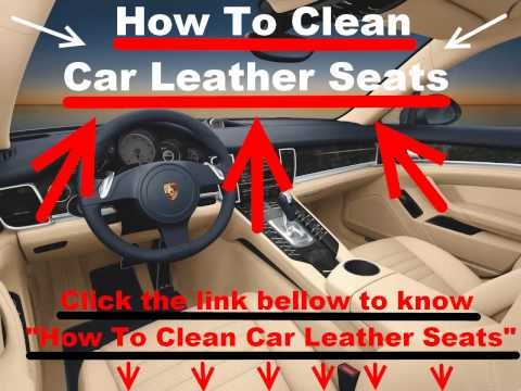 How to Clean Car Leather Seats?