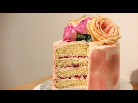 VINTAGE ROSE GOLD CAKE