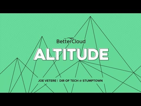 Altitude 2018: Managing Remote Employees & Multiple Locations