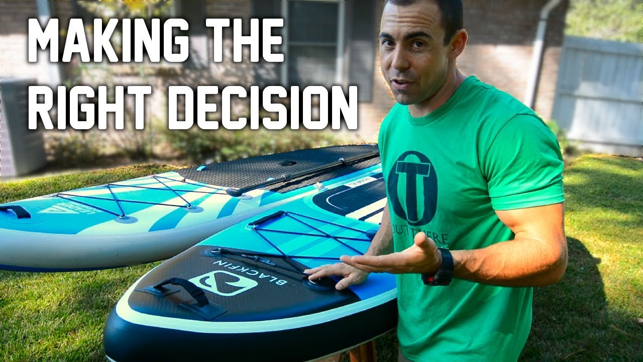 Choosing the RIGHT Inflatable Paddle Board