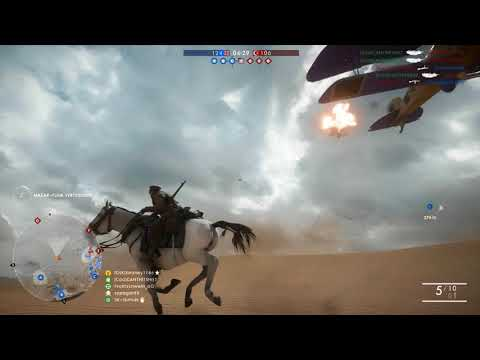 BF1 - How to take out plane with horse