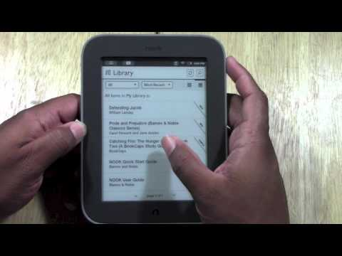 Nook Simple Touch for Beginners | H2TechVideos