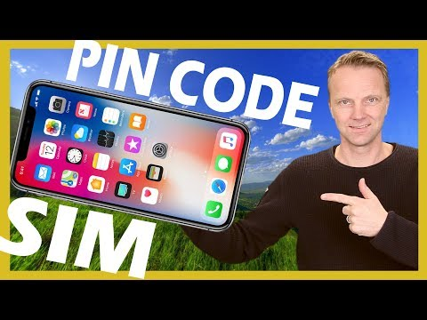 Change SIM PIN CODE on iPhone