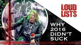 8 Reasons Why 2016 Didn