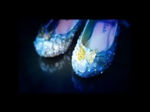 DIY Cinderella Glass Slippers Tutorial