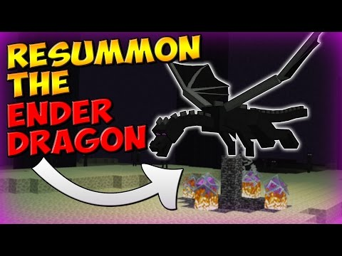 How to Re-Summon the ENDER DRAGON! (Minecraft 1.10 Tutorial)
