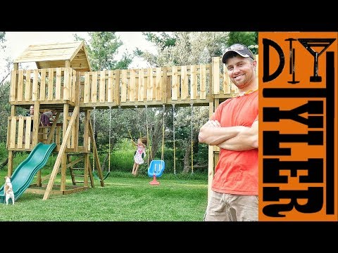 World's Greatest Swing Set Reveal | Part  2
