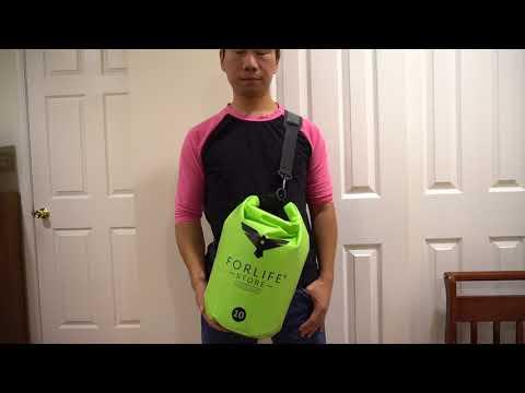 ForLifeStore 10L Dry Bag Review