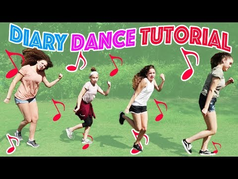 Haschak Sisters - Diary (Dance Tutorial)