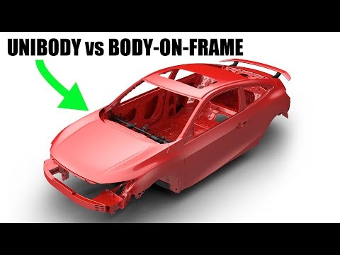 Unibody vs Body On Frame - Which Is Best?