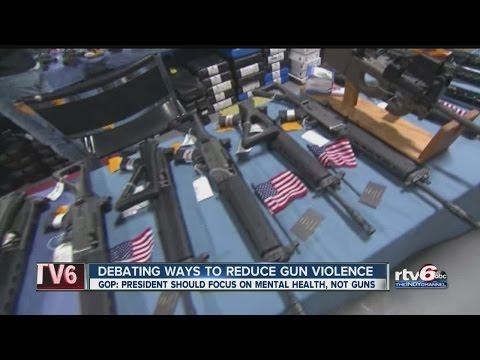 Debating ways to reduce gun violence