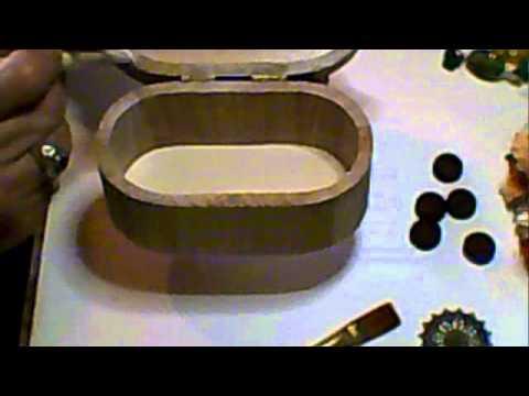Altered Wooden Trinket Box Tutorial, Part 1 - Jennings644