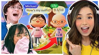 Animal Crossing FASHION SHOW ft. LilyPichu, MichaelReeves & Fedmyster!
