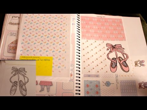 BA Childrenswear (Fashion and Textiles Sketchbook) Tour (2nd year, First class degree)